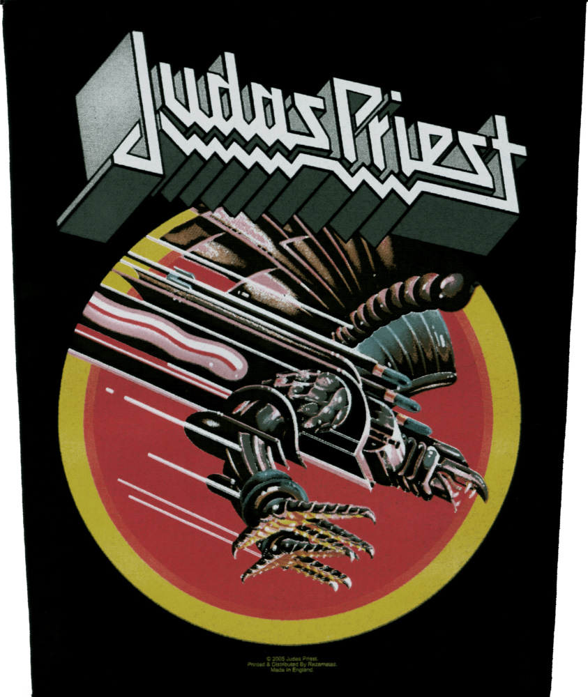 Judas Priest - Screaming For Vengeance officially licensed Giant Back Patch.