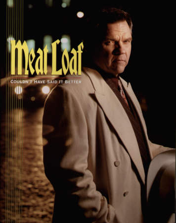 Meat Loaf - Couldn't Have Said It Better concert tour programme.