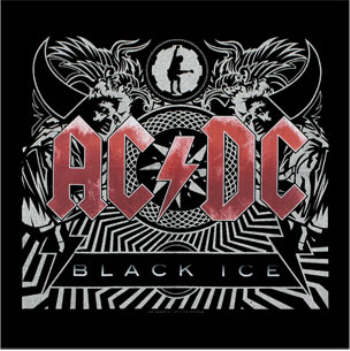 AC/DC AC DC - Black Ice officially licensed Bandanna.