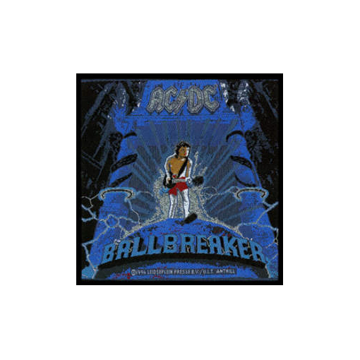 AC/DC AC DC - Ballbreaker officially licensed Woven Sew on Patch.