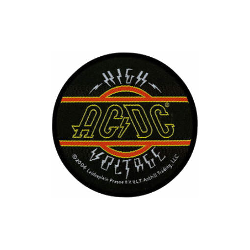 AC/DC AC DC - High Voltage officially licensed Woven Sew on Patch.