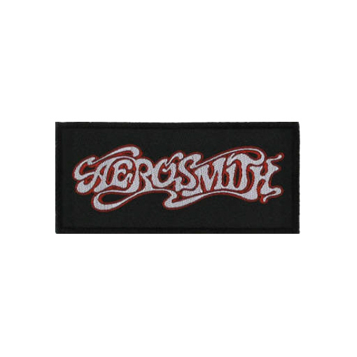 Aerosmith - Classic Logo officially licensed Woven Sew on Patch.