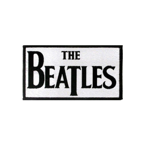 The Beatles - Official Classic Logo Woven Patch.