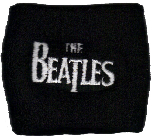 The Beatles - Classic Logo officially licensed Sweatband Wristband.