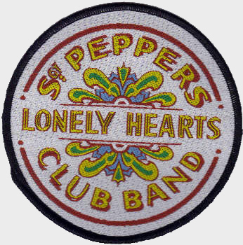 The Beatles - Official Sgt Peppers Lonely Hearts Club Band Woven Patch.