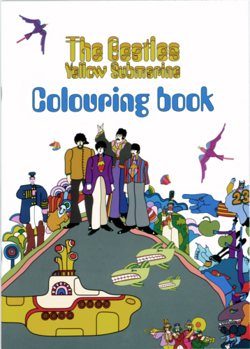 The Beatles -Official Yellow Submarine Colouring Book.