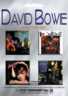 David Bowie -Official Album Sleeves Badge Pack.