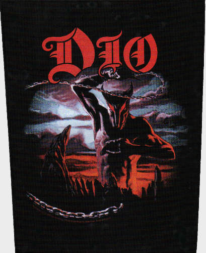 Ronnie James Dio - Holy Diver officially licensed Giant Back Patch.