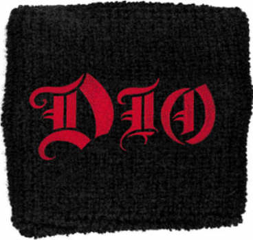 Ronnie James Dio - Classic Logo officially licensed Sweatband Wristband.