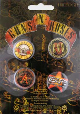Guns 'n' Roses - Official Badge Pack.