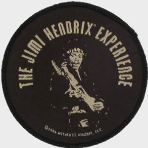 Jimi Hendrix - Shrine Oficially licensed Woven Sew on Patch.