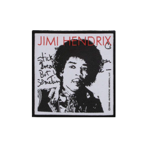 Jimi Hendrix - Stone Free Oficially licensed Woven Sew on Patch.
