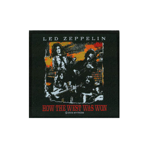 Led Zeppelin - How The West Was Won officially licensed Woven Sew on Patch.