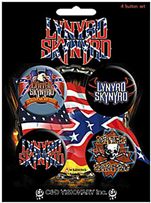 Lynyrd Skynyrd -Official Badge Pack.