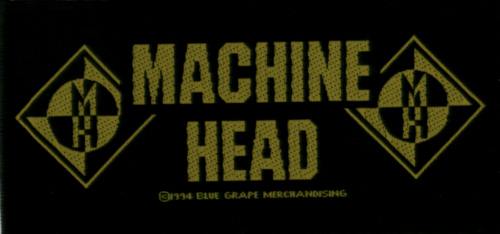 Machine Head - Classic Logo Oficially licensed Woven Sew on Patch.