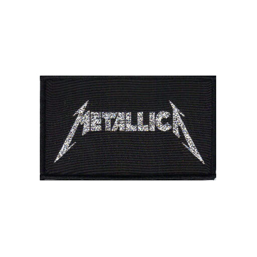 Metallica - Classic Logo - Officially Licensed Woven Patch.