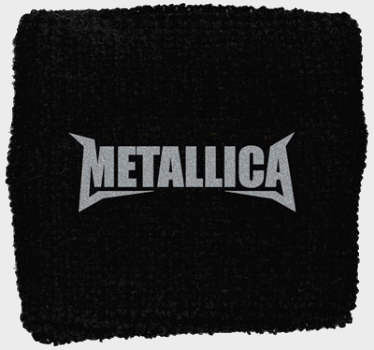 Metallica - Classic Logo officially licensed Sweatband Wristband.