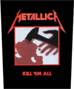 Metallica - Kill Em All officially licensed Giant Back Patch.