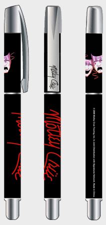 Motley Crue - Masks Oficially licensed Gel Pen.