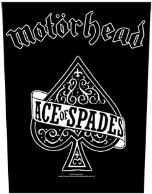 Motorhead - Ace Of Spades officially licensed Giant Back Patch.