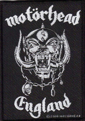 Motorhead - England officially licensed Woven Sew on Patch.