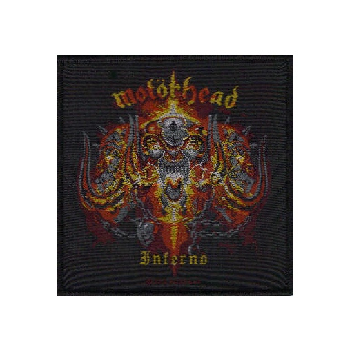 Motorhead - Inferno officially licensed Woven Sew on Patch.