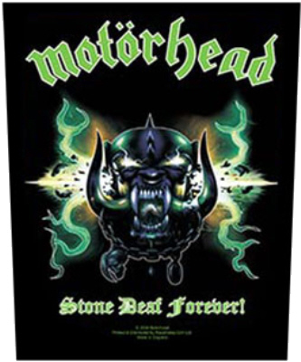 Motorhead - Stone Deaf Forever officially licensed Giant Back Patch.