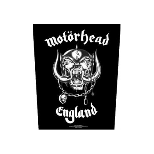 Motorhead - England officially licensed Giant Back Patch.