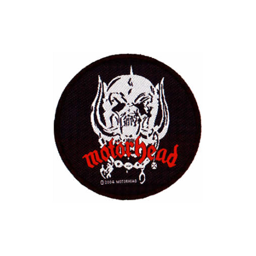 Motorhead - War Pig Skull officially licensed Woven Sew on Patch.