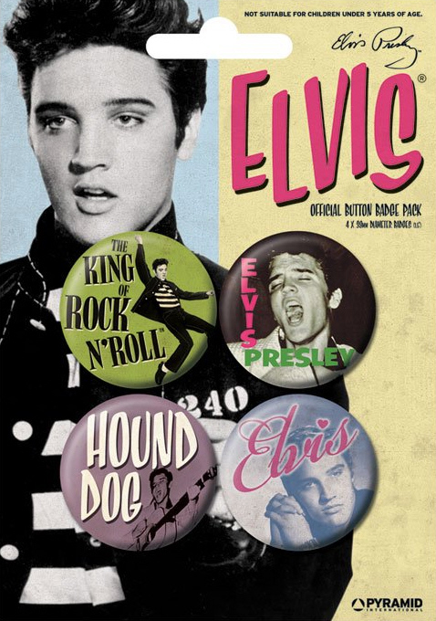 Elvis Presley - Early Years Official Badge Pack.