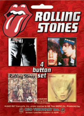 Rolling Stones -Official Album Sleeves Badge Pack.