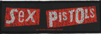 Sex Pistols - Classic Logo Oficially licensed Woven Sew on Patch.