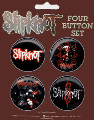 Slipknot Official Badge Pack.