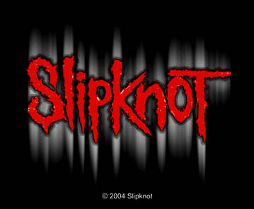 Slipknot - Ghosted Outline officially licensed Woven Sew on Patch.