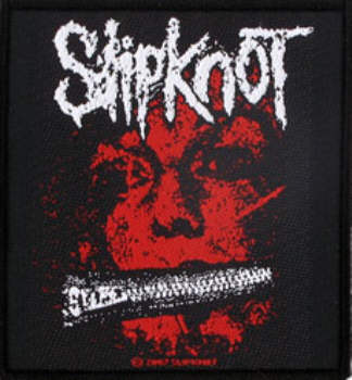 Slipknot - Zipper Face officially licensed Woven Sew on Patch.
