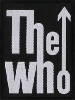 The Who - Arrow Logo officially licensed Woven Sew on Patch.