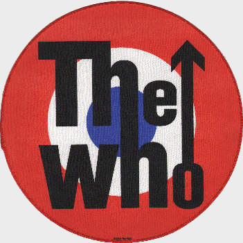 The Who - Mod Target officially licensed Giant Back Patch.