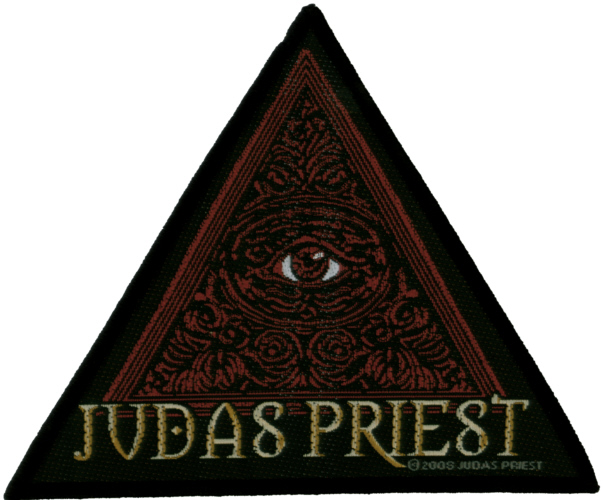 Judas Priest - Nostradamus Eye officially licensed Woven Sew on Patch.