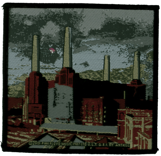 Pink Floyd - Animals Oficially licensed Woven Sew on Patch.