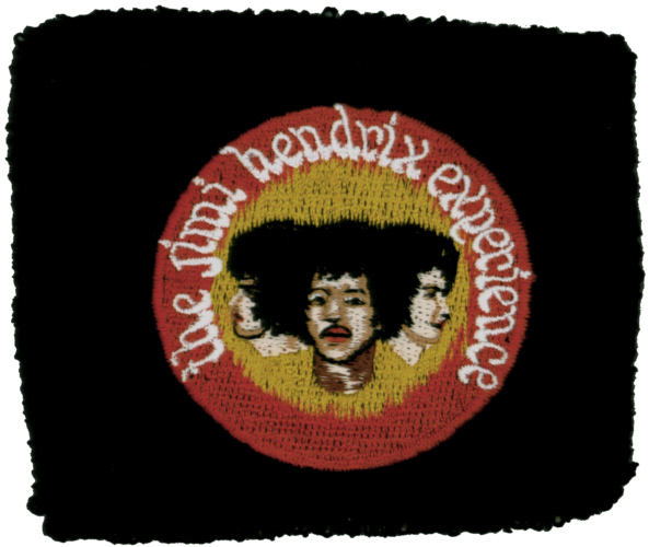 The Jimi Hendrix Experience officially licensed Sweatband Wristband.
