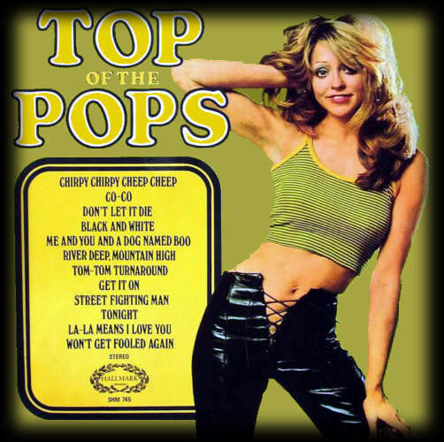 Top Of The Pops LP Sleeve - Volume 18 Hallmark SHM 745.